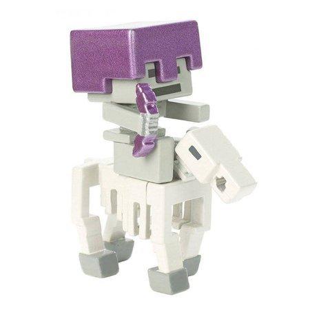 Minecraft  Skeleton Horse Rider Mini Deluxe Figure