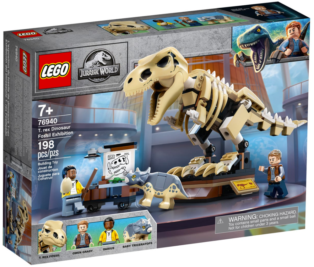 LEGO T. rex Dinosaur Fossil Exhibition 76940