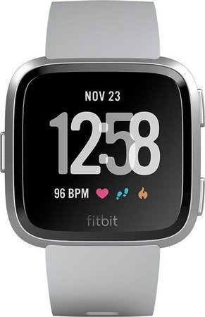 Fitbit Versa Smartwatch Special Edition szaro-srebrny (NFC)