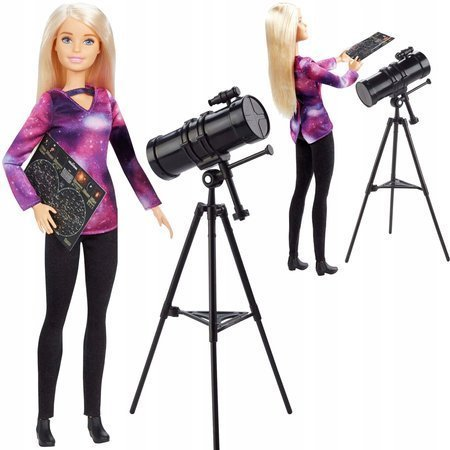 Barbie National Geographic - Lalka Astrofizyczka
