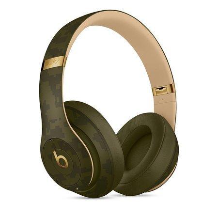 Słuchawki nauszne Beats Studio3 Wireless Over-Ear Headphones - The Beats Camo Collection - Forest Green - ciemnozielony