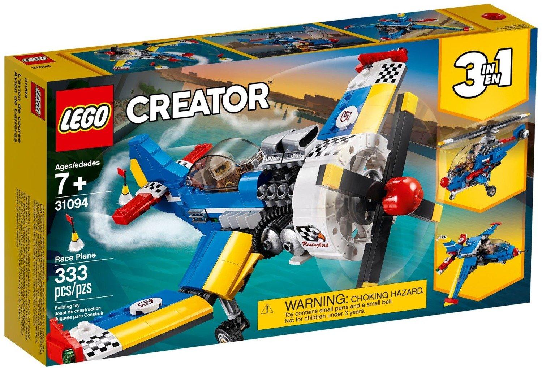 Klocki Lego Creator Samolot Wyścigowy 3w1 31094 Zabawki
