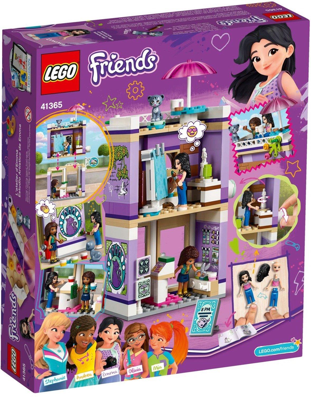 Klocki Lego Friends Atelier Emmy 41365 Zabawki Klocki Lego