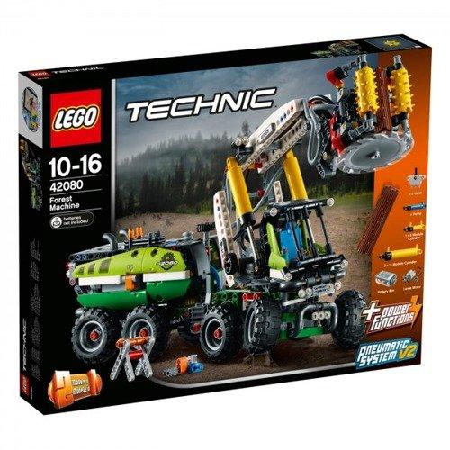 Klocki Lego Technic Maszyna Leśna 42080 Zabawki Klocki Lego