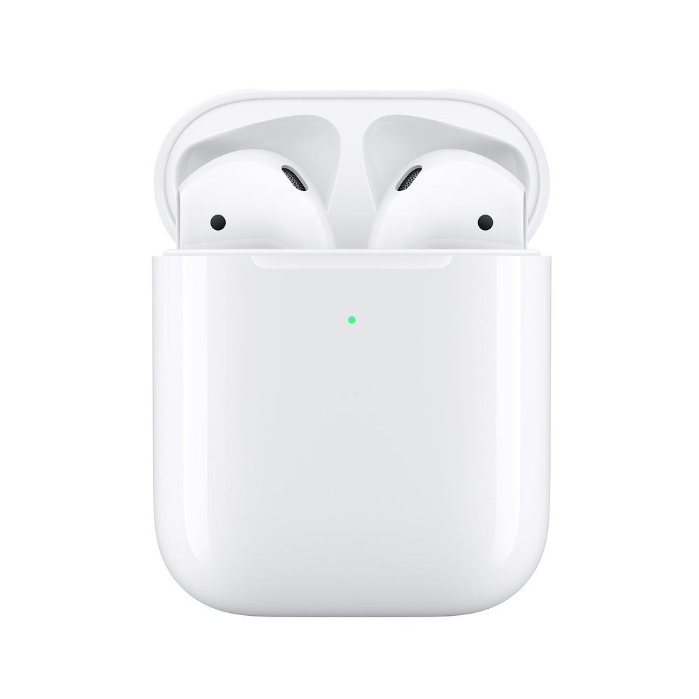 Apple AirPods 2019 z bezprzewodowym etui ładującym MRXJ2ZM/A