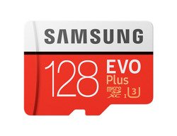 Karta pamięci Samsung EVO Plus microSDHC 100 MB/s (złącze SD) 128 GB