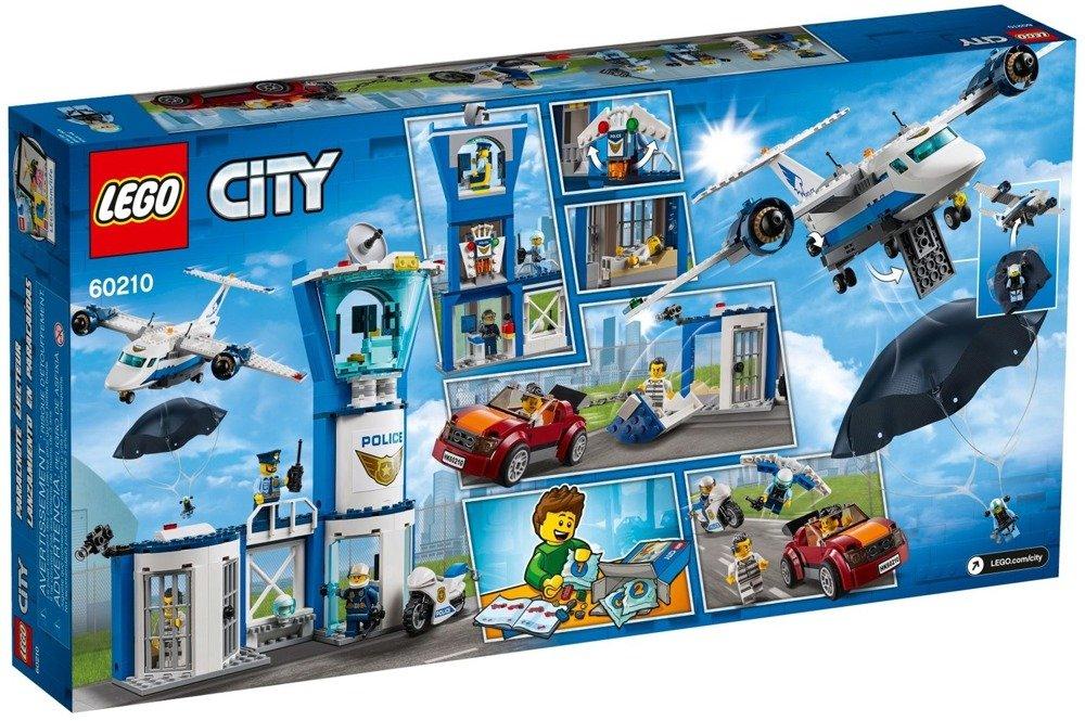 Klocki LEGO City - Baza policji powietrznej - 60210