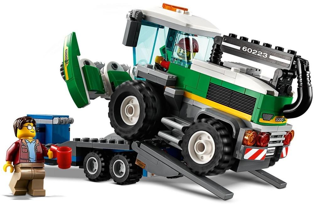 Klocki LEGO City - Transporter kombajnu - 60223