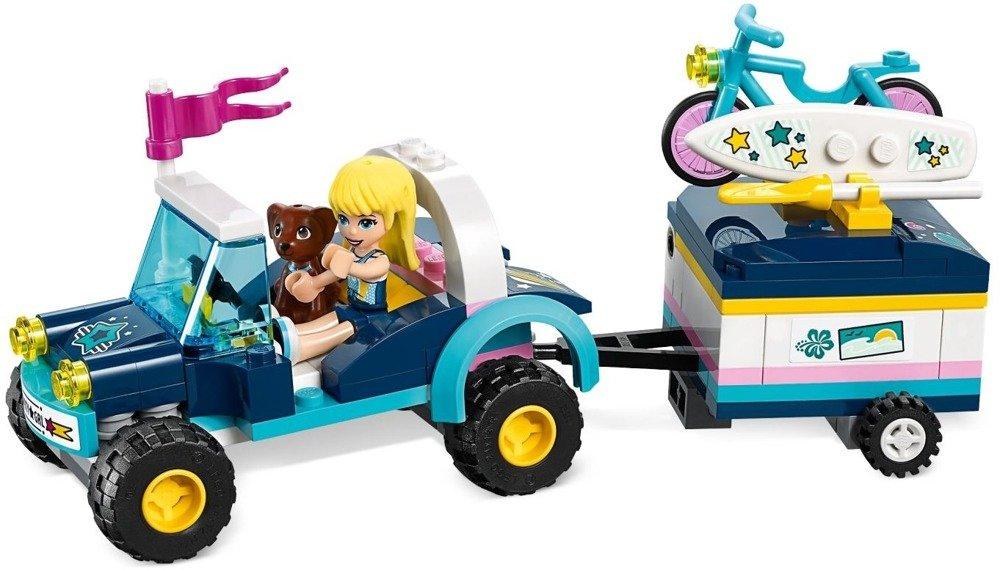 Klocki LEGO Friends Łazik z przyczepką Stephanie - 41364