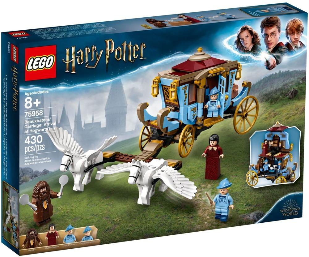 Klocki LEGO Harry Potter - Powóz z Beauxbatons: przyjazd do Hogwartu - 75958