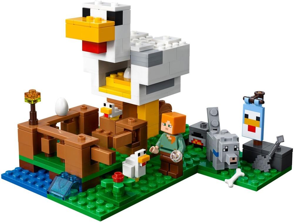 Klocki LEGO MINECRAFT - Kurnik - 21140