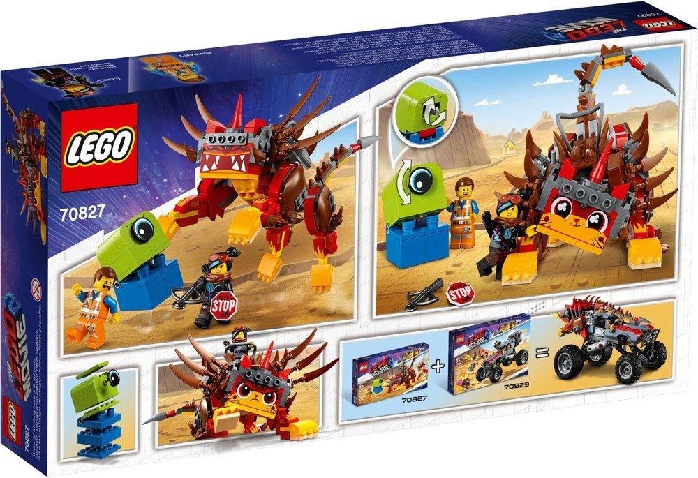 Klocki LEGO Movie - UltraKocia i Lucy Wojowniczka - 70827