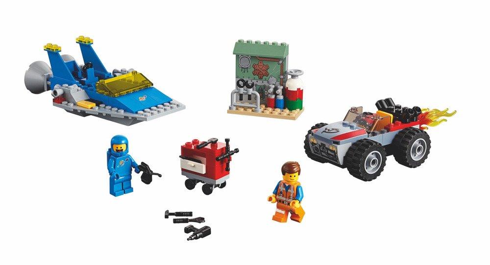 Klocki LEGO Movie - Warsztat Emmeta i Benka - 70821
