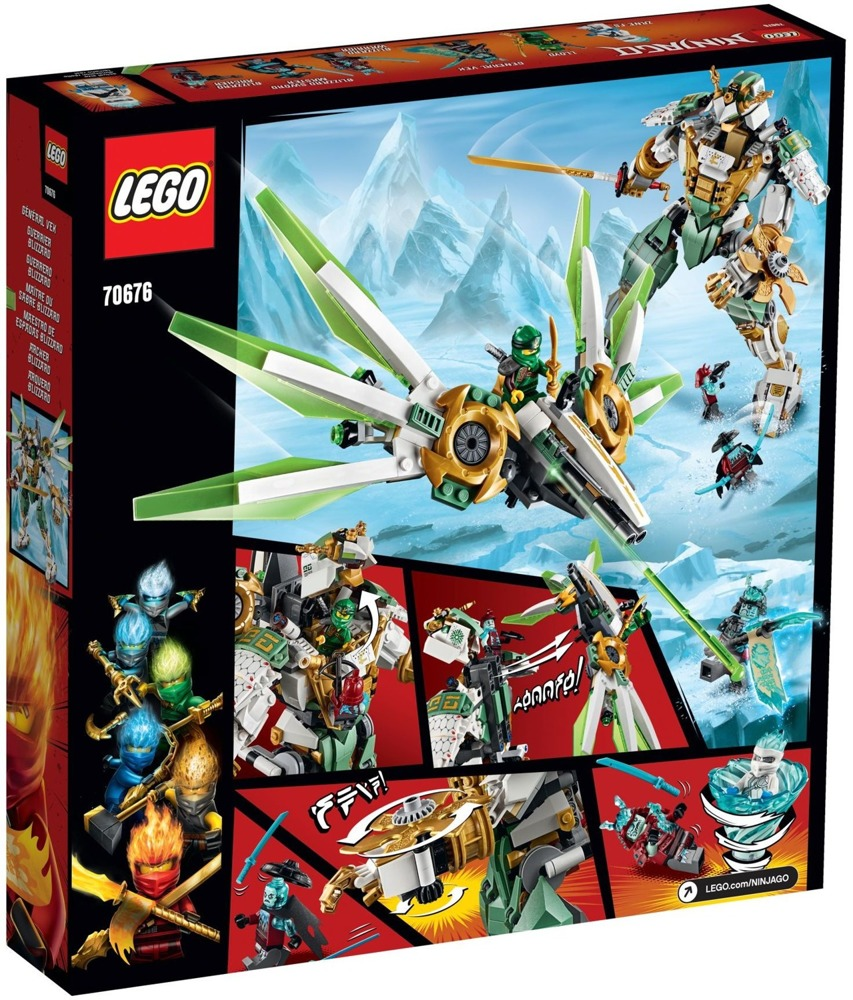 Klocki LEGO NINJAGO - Mechaniczny tytan Lloyda - 70676