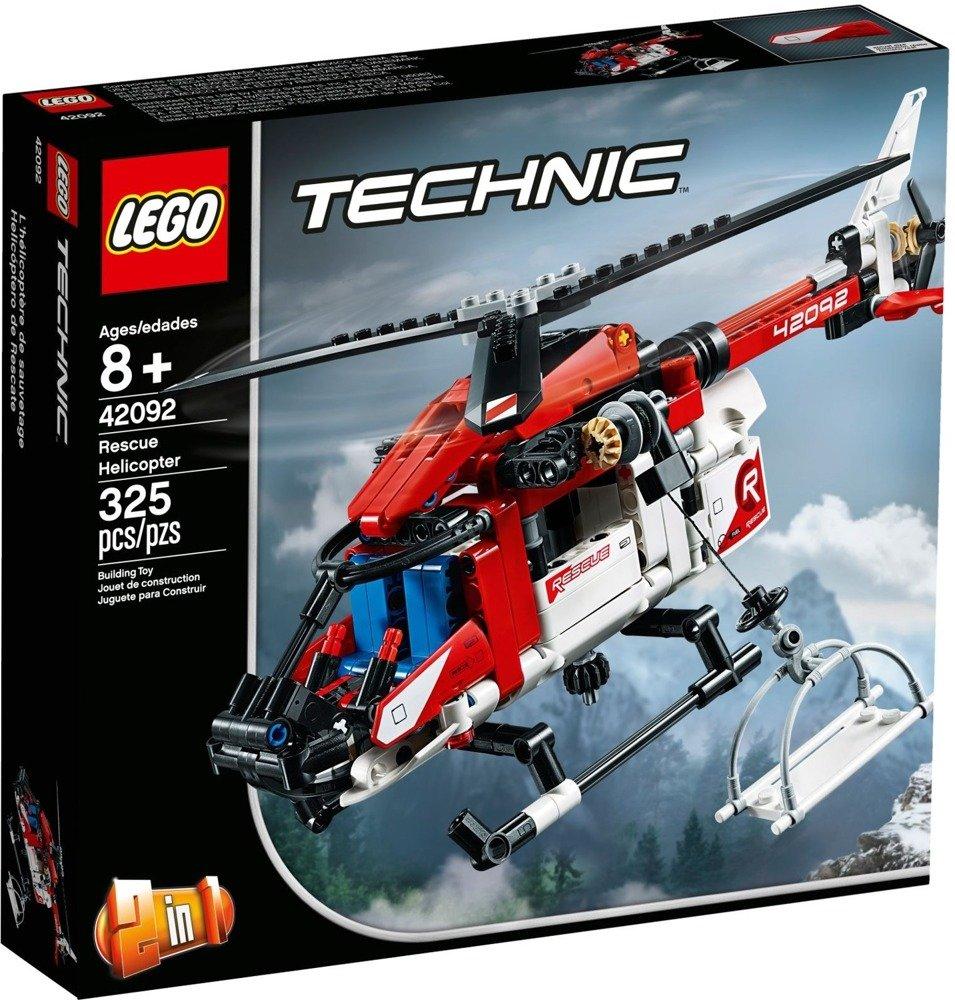 Klocki LEGO TECHNIC Helikopter ratunkowy 2w1 - 42092