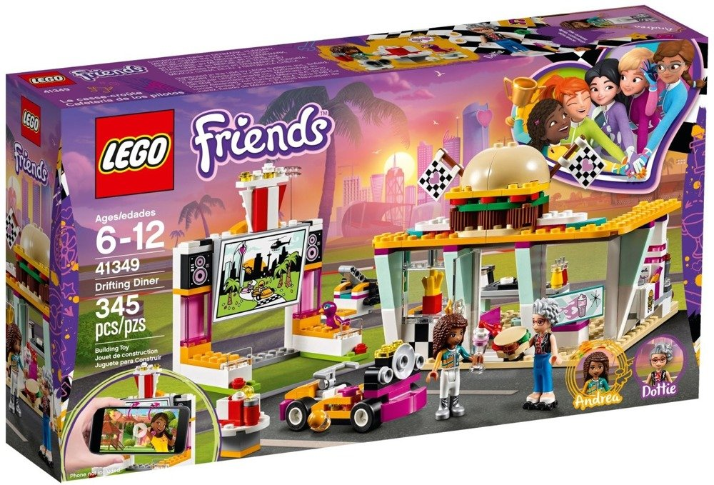 LEGO Friends - Wyścigowa restauracja - 41349