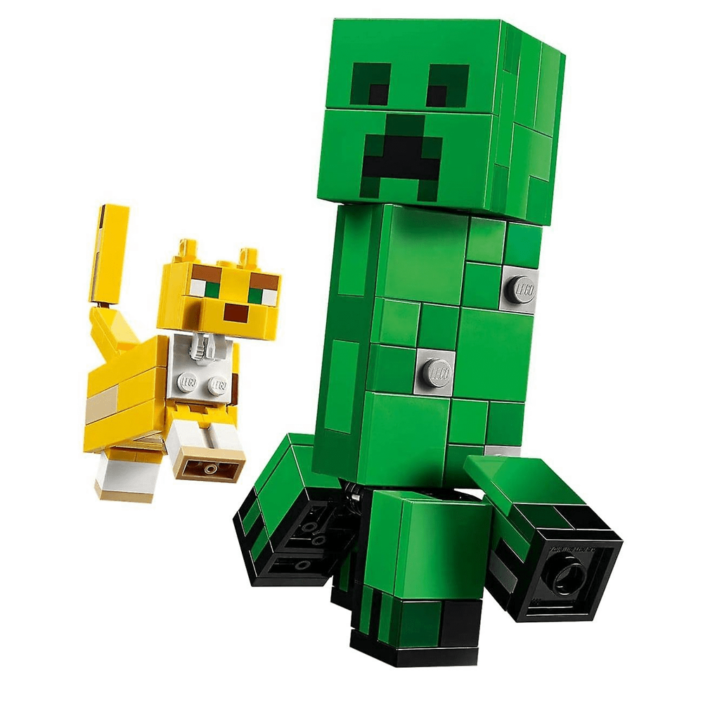 LEGO MINECRAFT BigFig Creeper i Ocelot	21156