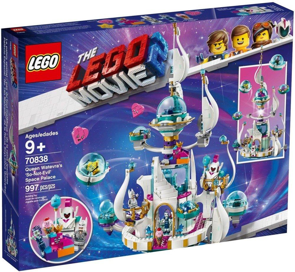 LEGO MOVIE 2 PAŁAC KRÓLOWEJ WISIMI 70838