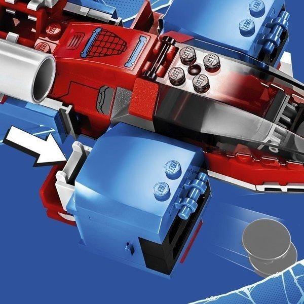 Lego Super Heroes Pajęczy odrzutowiec kontra Mech Venoma 7615