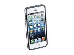 Opaska anti-shock Bumper do iPhone 5 /5s czarna + 2 folie ochronne przód i tył