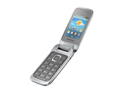 Samsung GT-C3590 Titan Silver
