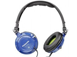 Słuchawki Panasonic RP DJS400 niebieskie