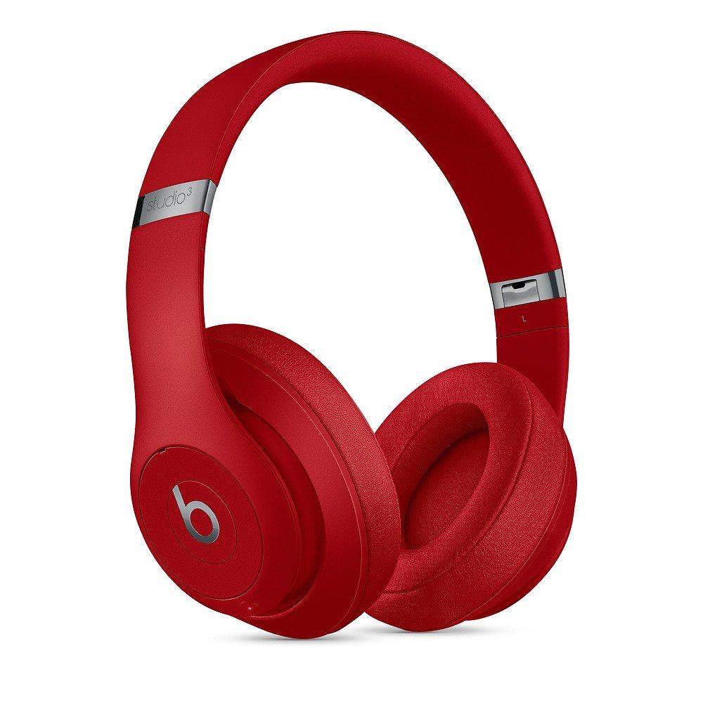 Słuchawki nauszne Beats Studio3 Wireless Over-Ear Headphones - Red - Czerwony